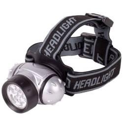 Náhlavné (čelové) LED svetlo * 12x lED