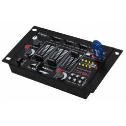 Mix pult Ibiza pre začínajúcich DJ-ov * 4-kanály * 7-vstupov * USB/MP3 player * Bluetooth