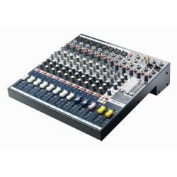 Mix SoundCraft * 8 mono + 2 stereo vstupy * 24bit DSP LEXICON