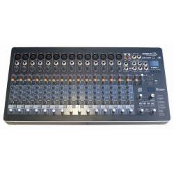 Mix BST * 14 mono a 1 stereo vstup * 24bit DSP s 99 efektami * USB/MP3