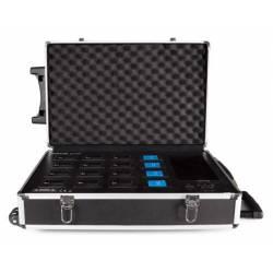Nabíjačka pre 16 ks batérií do mikrofónov SCI760P a SCI770D konferenčného systému FONESTAR SCI750