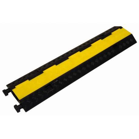 2-kanálová káblová ochrana (prejazdová lišta) BSA * Guma-plast