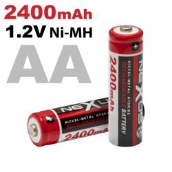 Tužková batéria AA • HR06 Ni-MH • 1,2 V • 2400 mAh 2 ks/blister