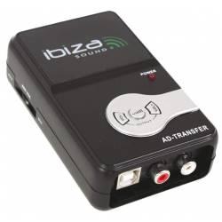 Miniatúrna externá zvuková karta IBIZA * USB * Phono/Line In * Line out