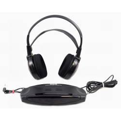 IR bezdrôtové stereo slúchadlá RCA