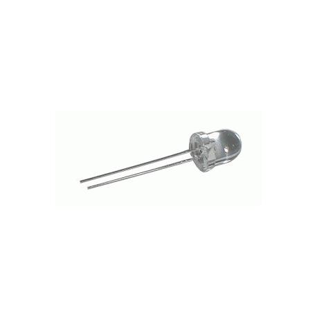 LED 8mm biela 3500mcd/20° číra