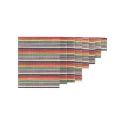 Vodič plochý 10 žilový barevný 30,5m