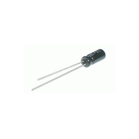Kondenzátor elektrolytický 10M/250V 10x17-5 105*C rad. C