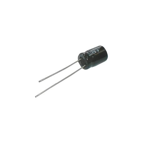 Kondenzátor elektrolytický 22M/100V 8x12-3.5 105*C rad. C
