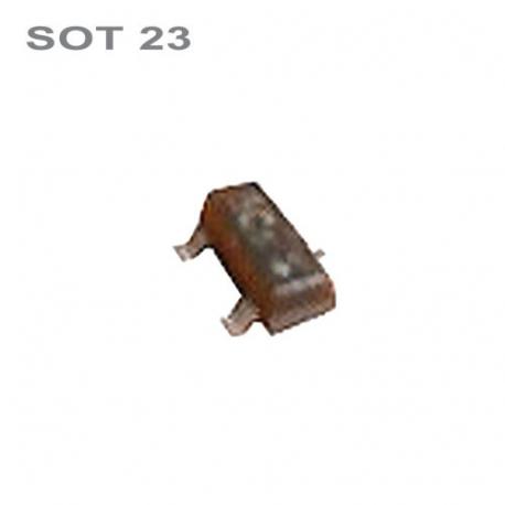 Tranzistor BC847A smd NPN 45V,0.1A,0.25W SOT23