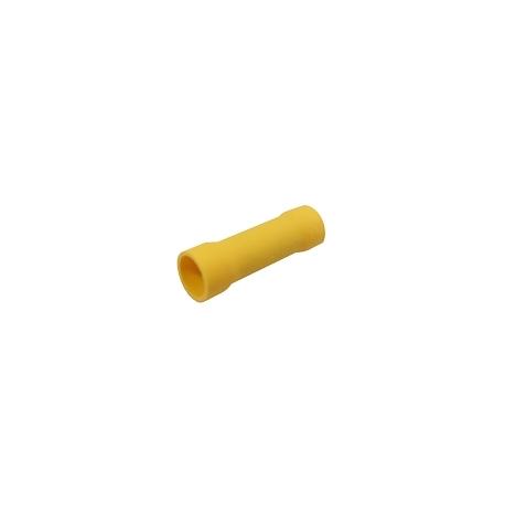 Spojka kruhová 4.0-6.0mm(AWG12-10) žltá