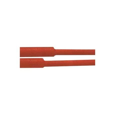 Bužírka zmršťovacia - 5.0 / 2.50mm červená