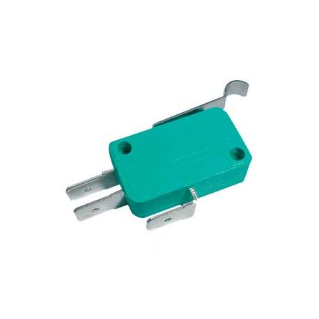 Mikrospínač ON-(ON) 10A s páčkou+z. L=23