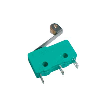 Mikrospínač ON-(ON) 5A s páčkou+v. L=17
