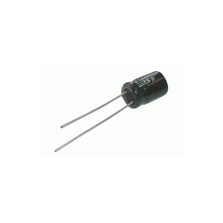 Kondenzátor elektrolytickýKE 100/63/10x13t 10x13mm-3.5 105*C rad.C