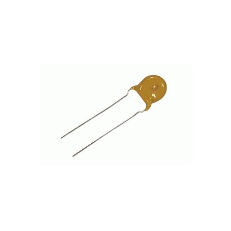 Kondenzátor keramický vysokonapäťový 1N5/3kV keramický rm7.5