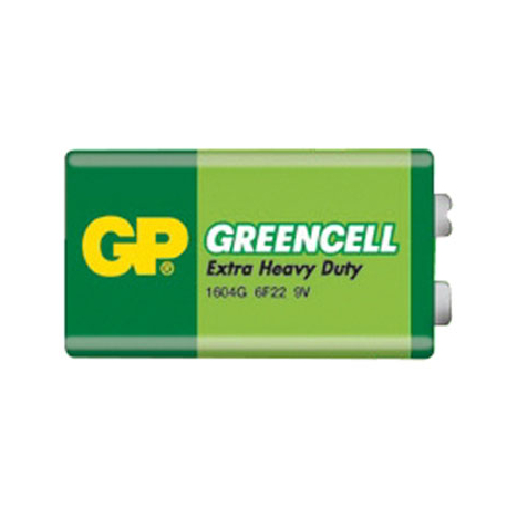 Batéria 6F22 (9V) Zn-Cl GP Greencell