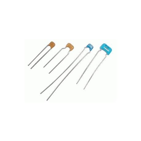 Kondenzátor keramický 47p/50V mono NPO rm5 C