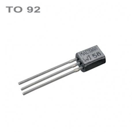 Tranzistor BC338-40 NPN 25V,0.8A,0.62W,200MHz TO92