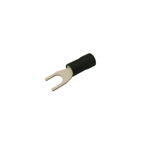 Vidlička 5.3mm, vodič 2.5-4.0mm čierna