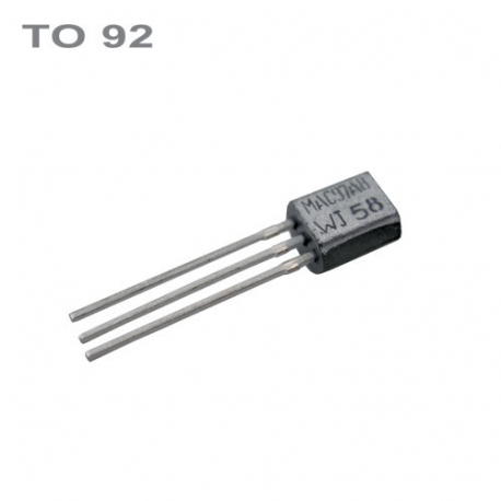 Tranzistor BC550C NPN 45V,0.1A,0.5W,100MHz TO92