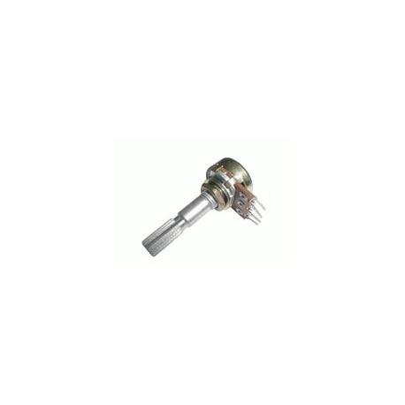 Potenciometer 250K/N mono 6/30mm