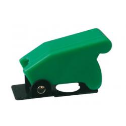 Prepínač páčkový ochran.kryt - zelený