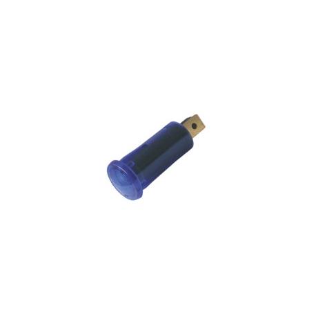 Kontrolka guľatá 12V DC modrá TIPA