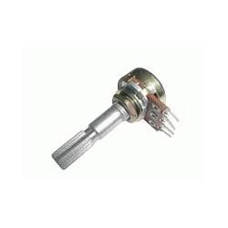 Potenciometer 100K/N mono 6/30mm