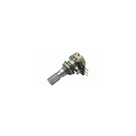 Potenciometer 100K/N mono 6/20mm
