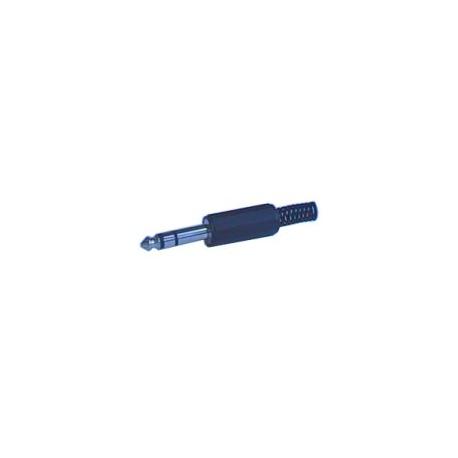 Konektor Jack 6.3 stereo plast