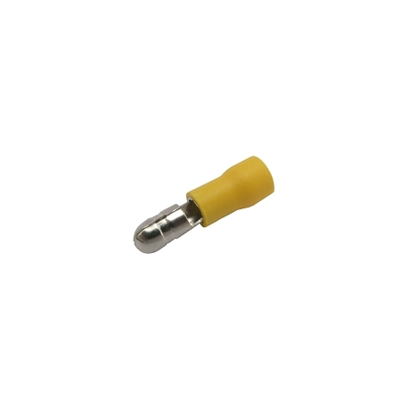 Konektor kruhový 5mm, vodič 4.0-6.0mm žltý