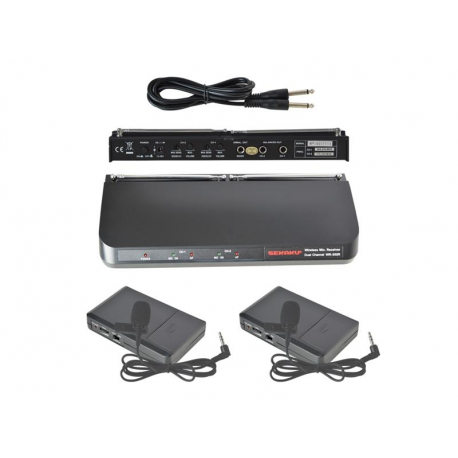 Mikrofón bezdrôtový SHOW WR202R+2xWT203P sada