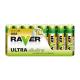 Batéria AAA (R03) alkalická RAVER