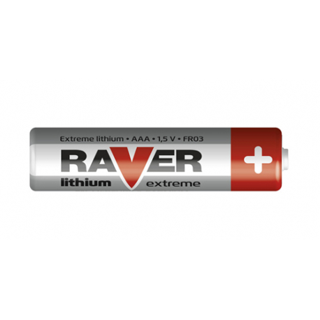 Batérie lítiová AAA R03 1,5V RAVER