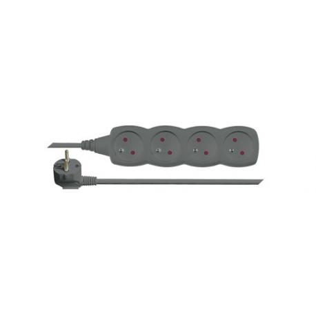 Predlžovací prívod 4 zásuvky 5m EMOS PC0415