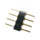 Lámací řadová vidlice oboustranná 40 pin, RM=2,54 mm, zlacené kontakty