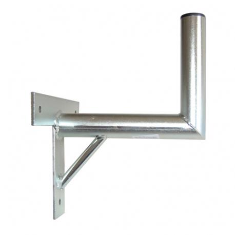 Anténny držiak 25 na stenu sa vzperou priemer 42mm TPG výška 16cm