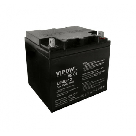 Batéria olovená 12V 40Ah VIPOW