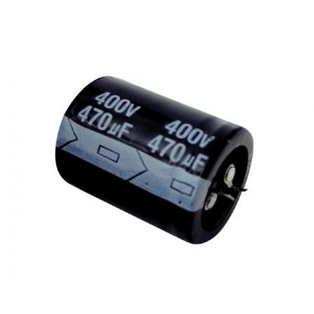Kondenzátor elektrolytický 470M/400V 35x45 85*C rad.C SNAP-IN