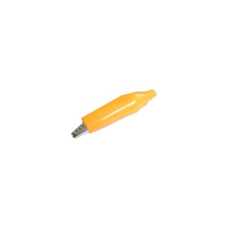 Krokosvorka malá s bužírkou žltá L=40mm