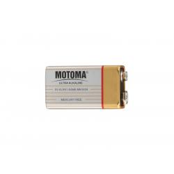 Batéria 9V (6LR61) alkalická MOTOMA Ultra Alkaline