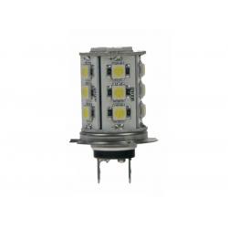 Autožiarovka LED 12V H7 18LED/3SMD STU