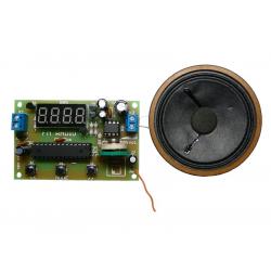 Stavebnica TIPA PT062 FM rádio s LED displejom