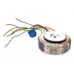 Transformátor toroidní 164VA 25/0/25V - 3A, 12V - 1.2A (115/50) vhodný pro Stavebnice PT002B/5