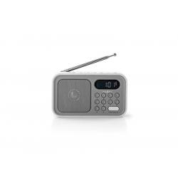 Rádio NEDIS RDFM2200WT GREY/WHITE