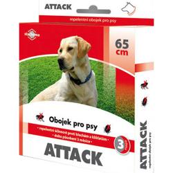 Obojok pre psy STACHEMA Attack antiparazitné 65 cm