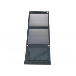 Fotovoltaický solárny panel 12W s USB, prenosný, skladací