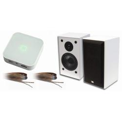 Set Wifi zosilňovača s USB/microSD/MP3 WA220 a dvoch reprosústav SONUS 90.BW * 2x 15W