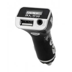 Transmitter do auta FM BLOW + USB nabíjačka 2.1A